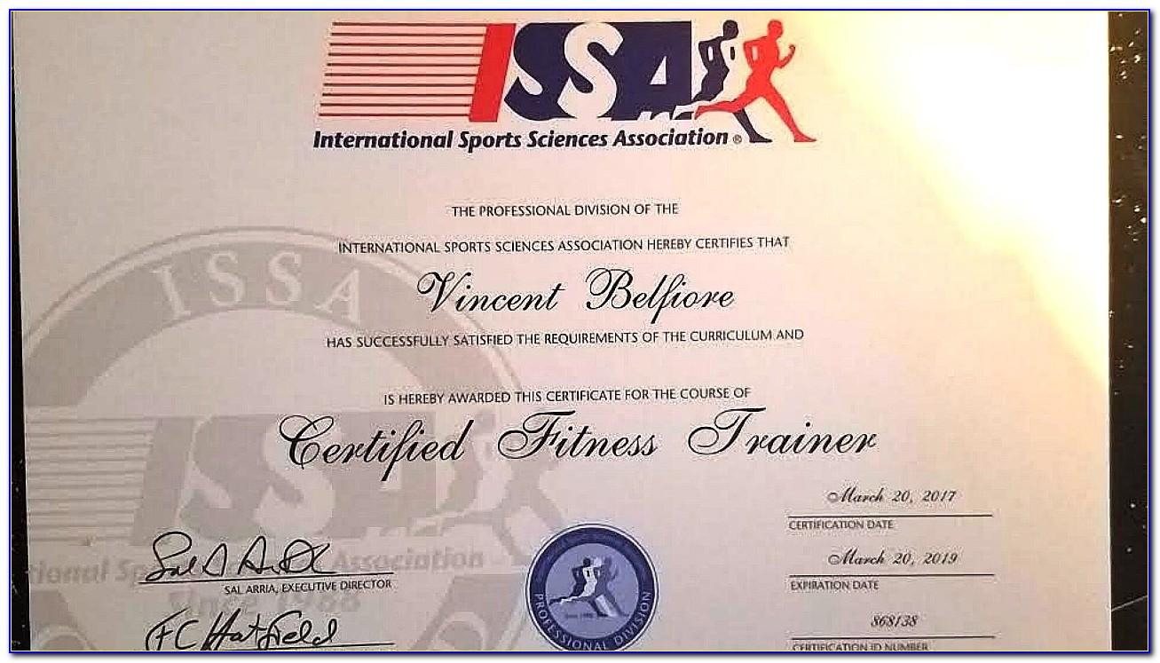 Issa Elite Trainer Certification Reviews