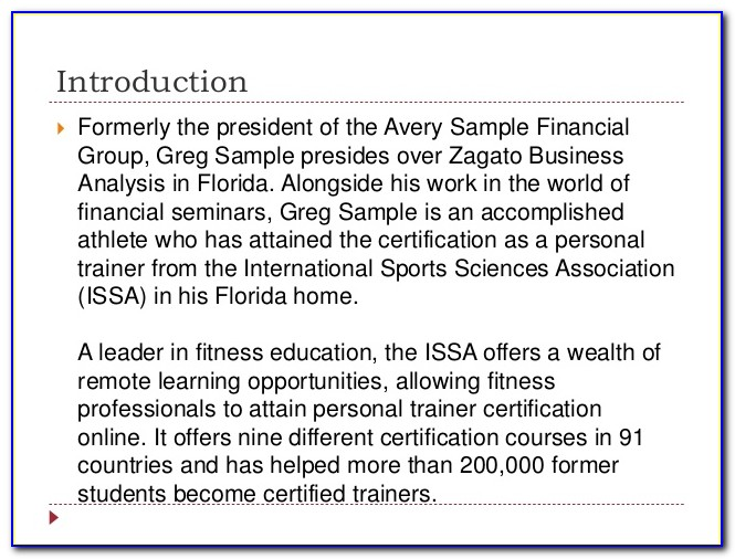 Issa Personal Trainer Certification Free