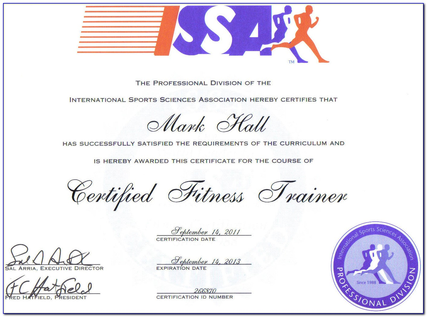 Issa Personal Trainer Certification Price