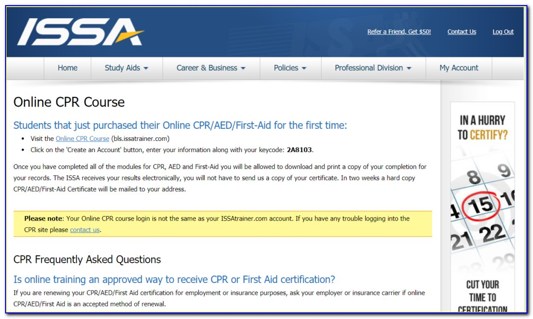 Issa Personal Trainer Certification Reddit