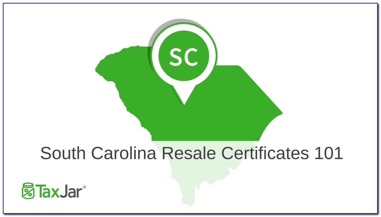 Kentucky Resale Certificate 51a105