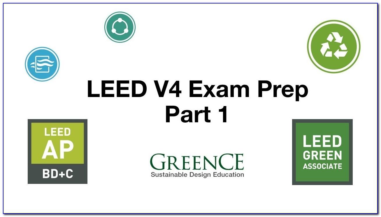 Leed Certification Exam Prep