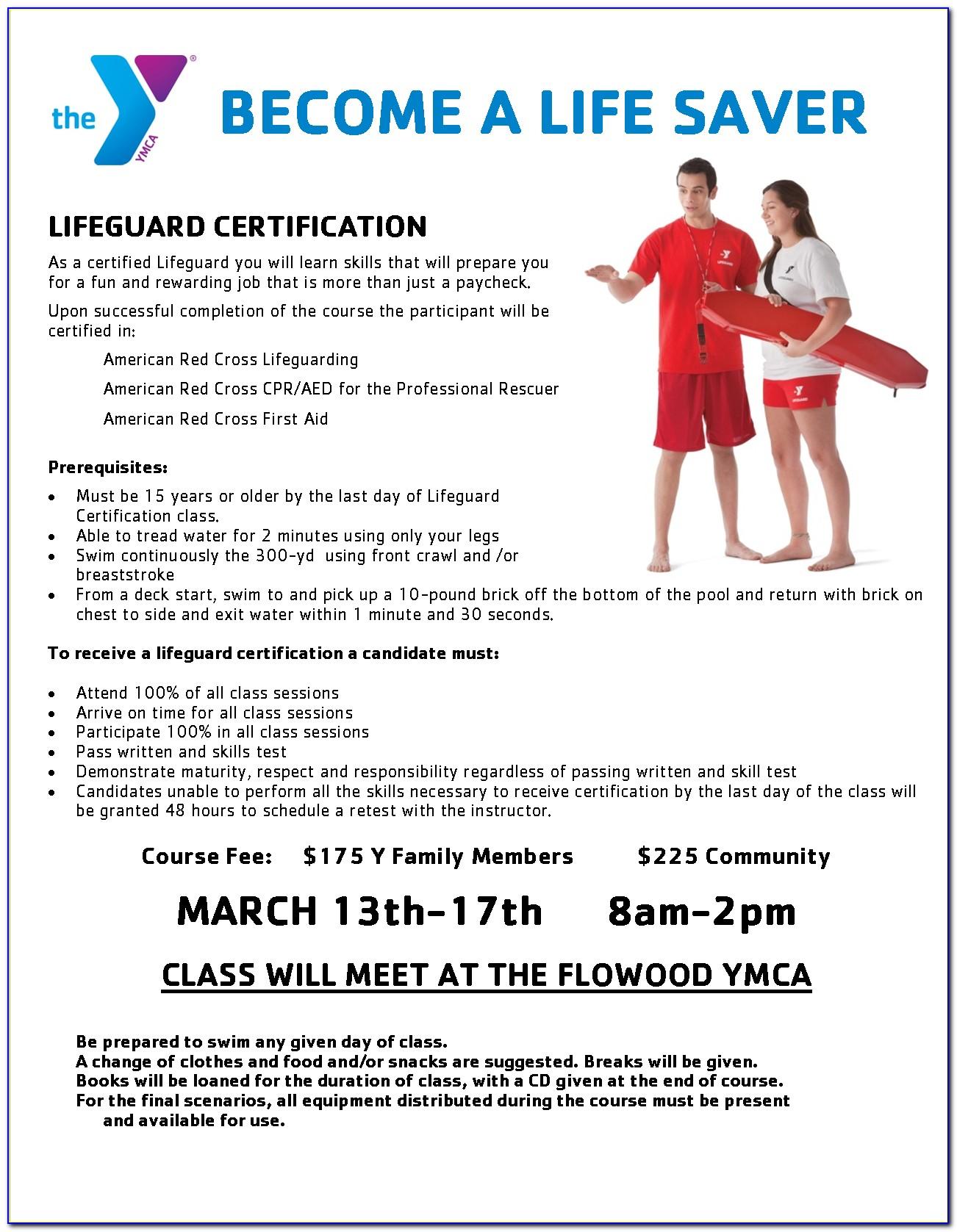 Lifeguard Certification Classes In Iowa