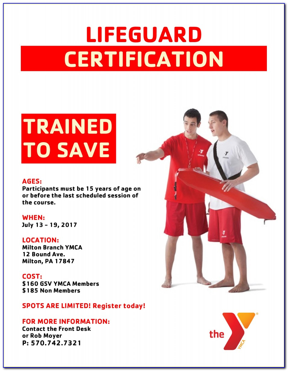 Lifeguard Certification Classes Knoxville