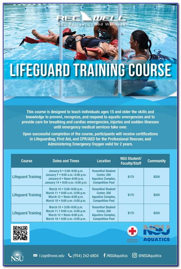 Lifeguard Certification Classes Michigan
