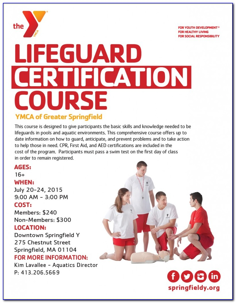 Lifeguard Certification Classes Near Me