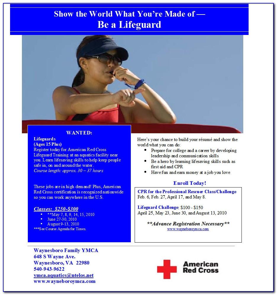 Lifeguard Certification Classes Ri