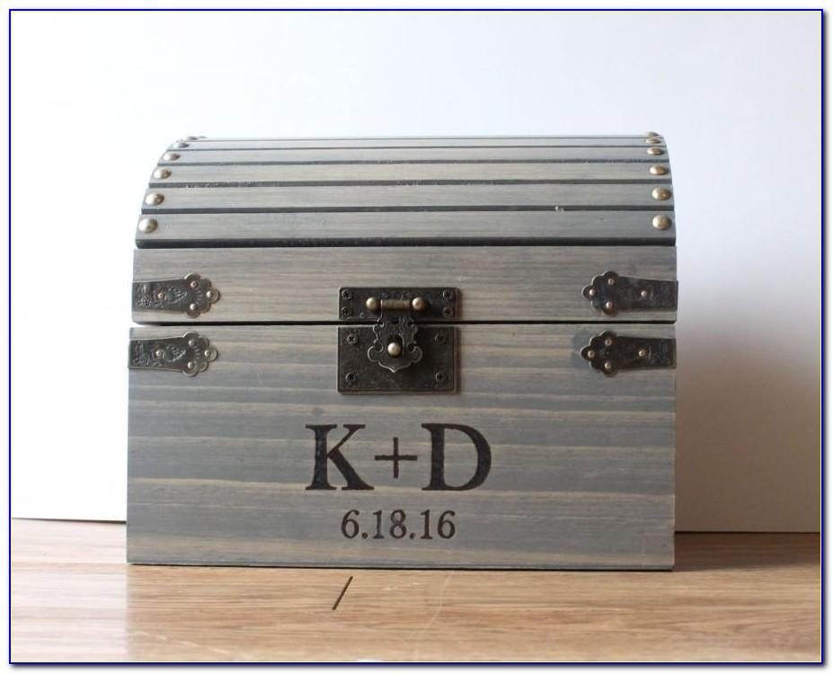 Lockable Card Box For Wedding