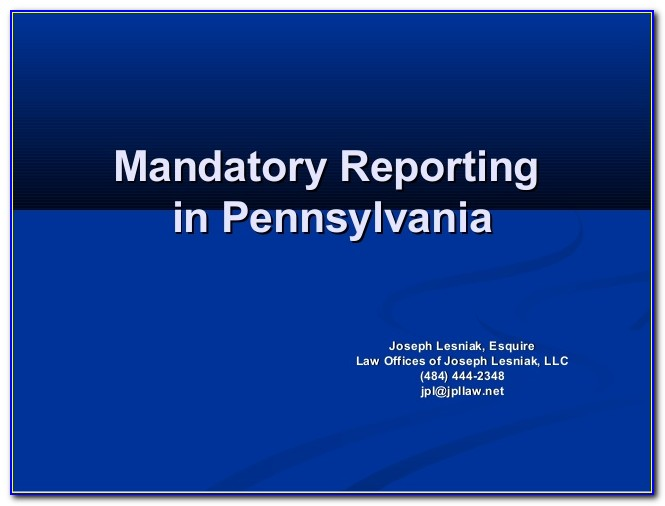 Mandated Reporter Certificate Ny