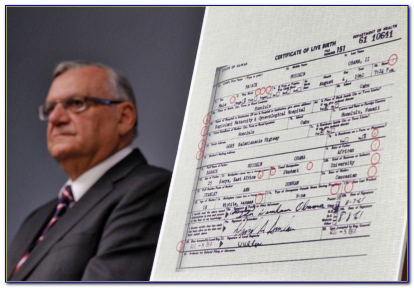 Maricopa County Birth Certificate Application