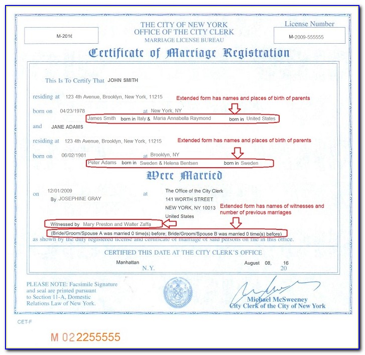 Marriage Certificate Apostille For Germany