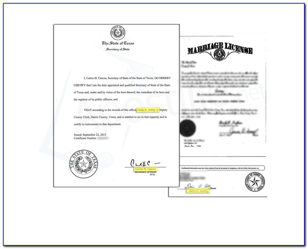 Marriage Certificate Apostille Uk