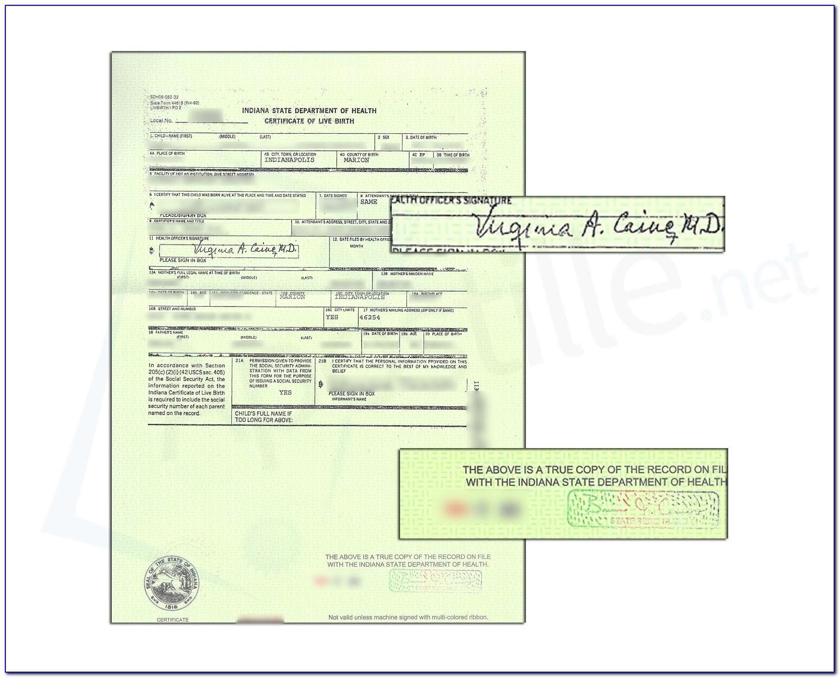 Marriage Certificate Apostille