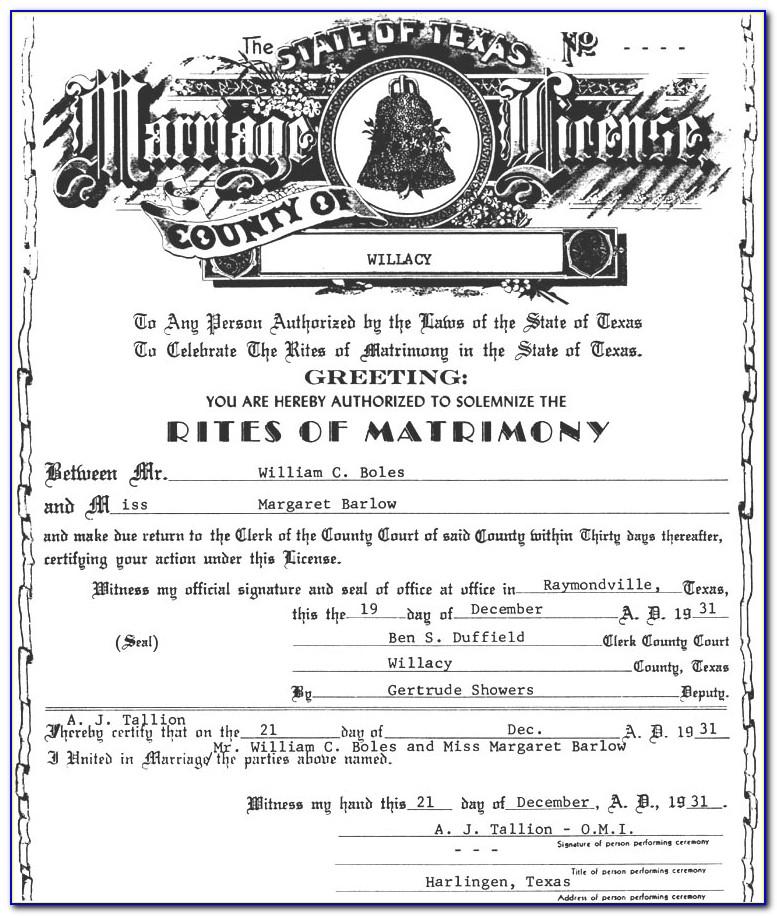 Marriage Certificate Lookup Ohio