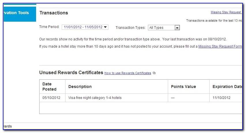 Marriott E Certificates