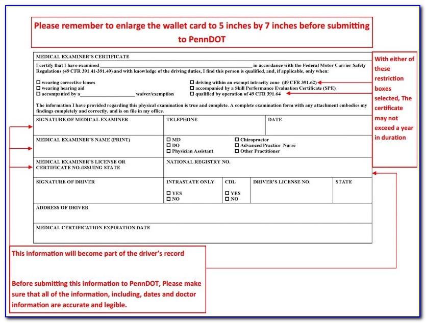 Medical Examiners Certificate 2020
