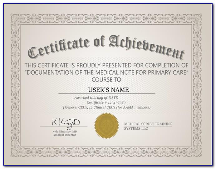 Medical Scribe Certification & Aptitude Test