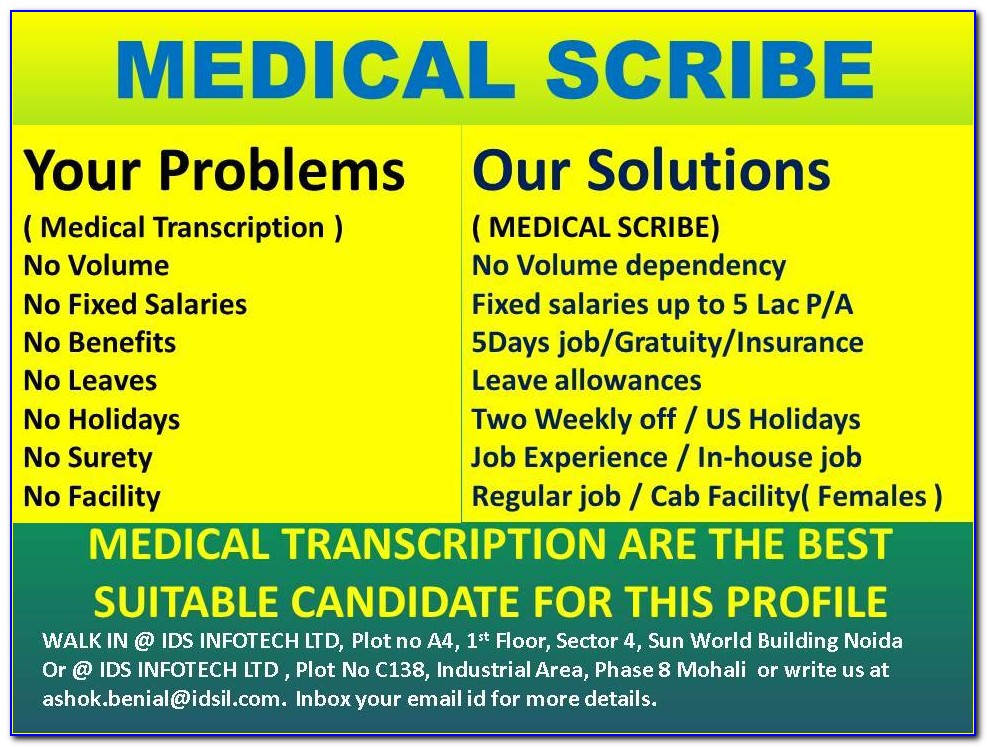 Medical Scribe Certification Course Online