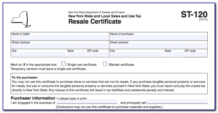 Michigan Resale Certificate Online