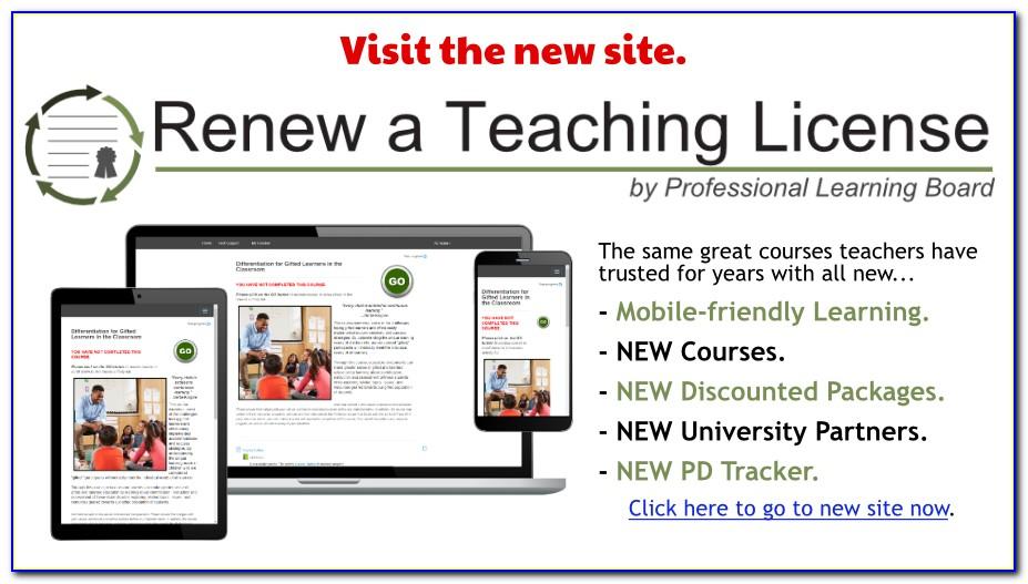 Michigan Teacher Certification Renewal Application