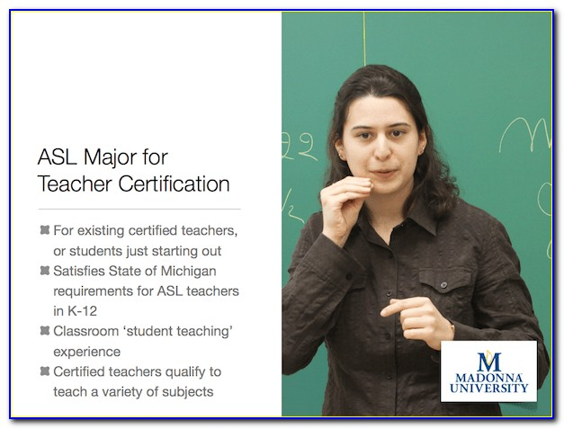 Michigan Teacher Certification Search