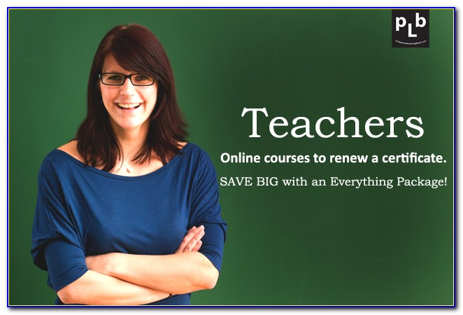 Michigan Teaching Certificate Renewal Requirements