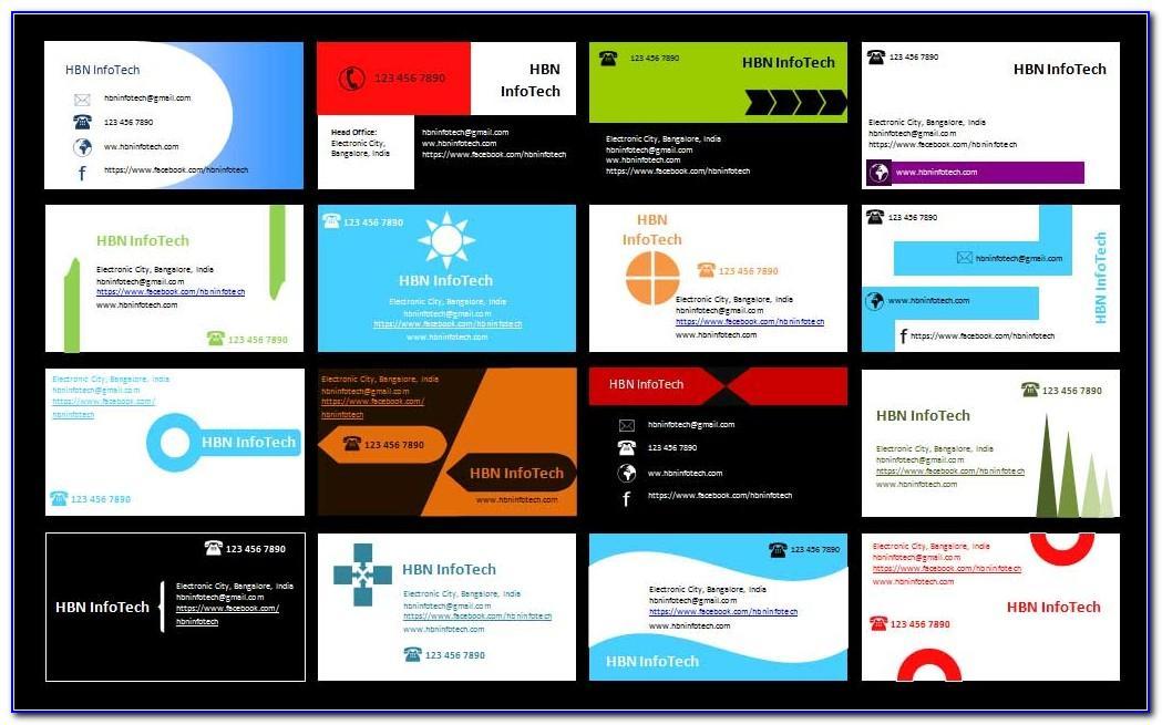 Microsoft Word Greeting Card Template
