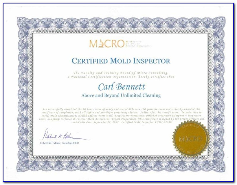 Mold Remediation Certification Indiana