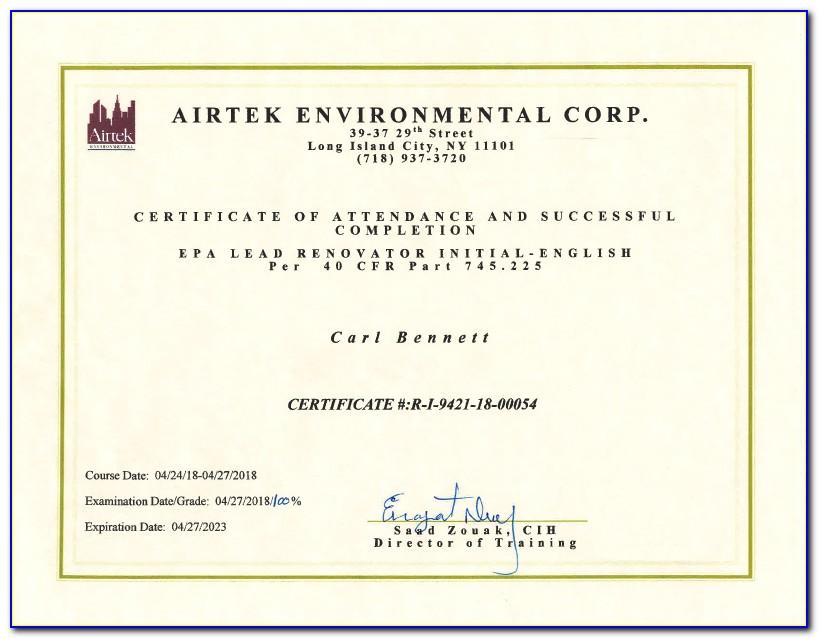 Mold Remediation Certification Michigan