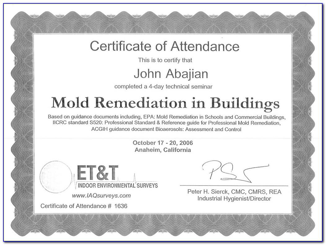 Mold Remediation Certification Nj