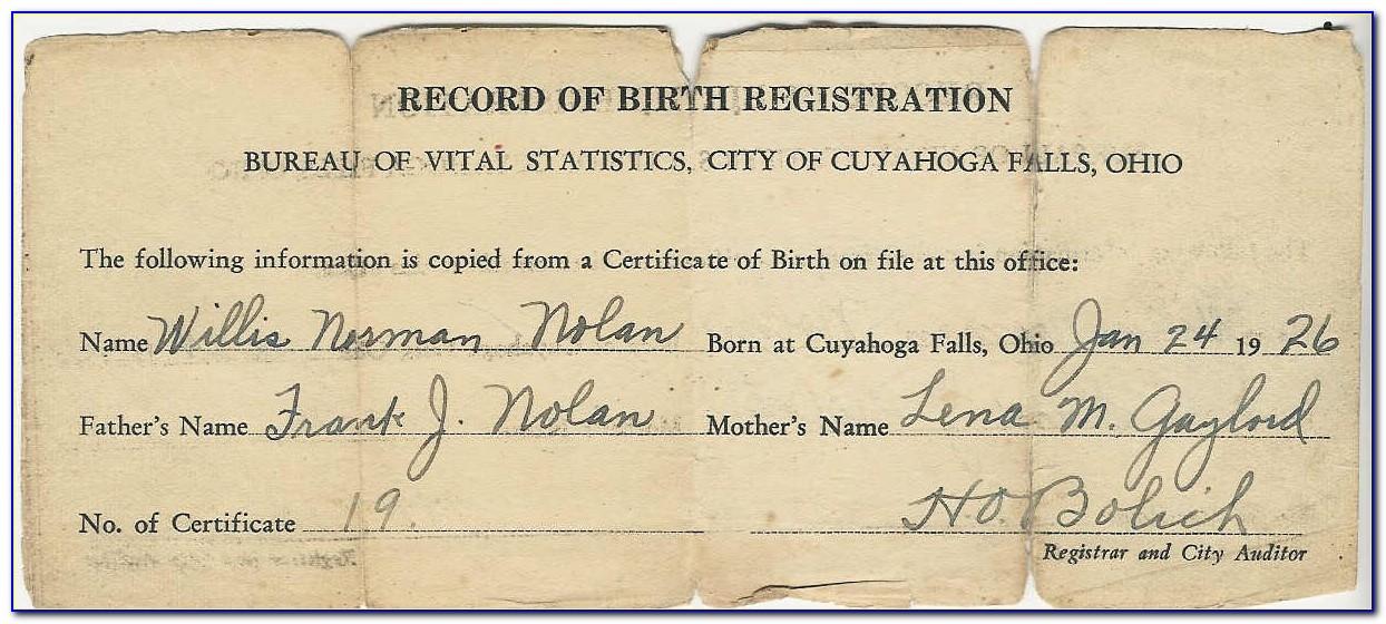 Montgomery County Ohio Birth Certificate Office