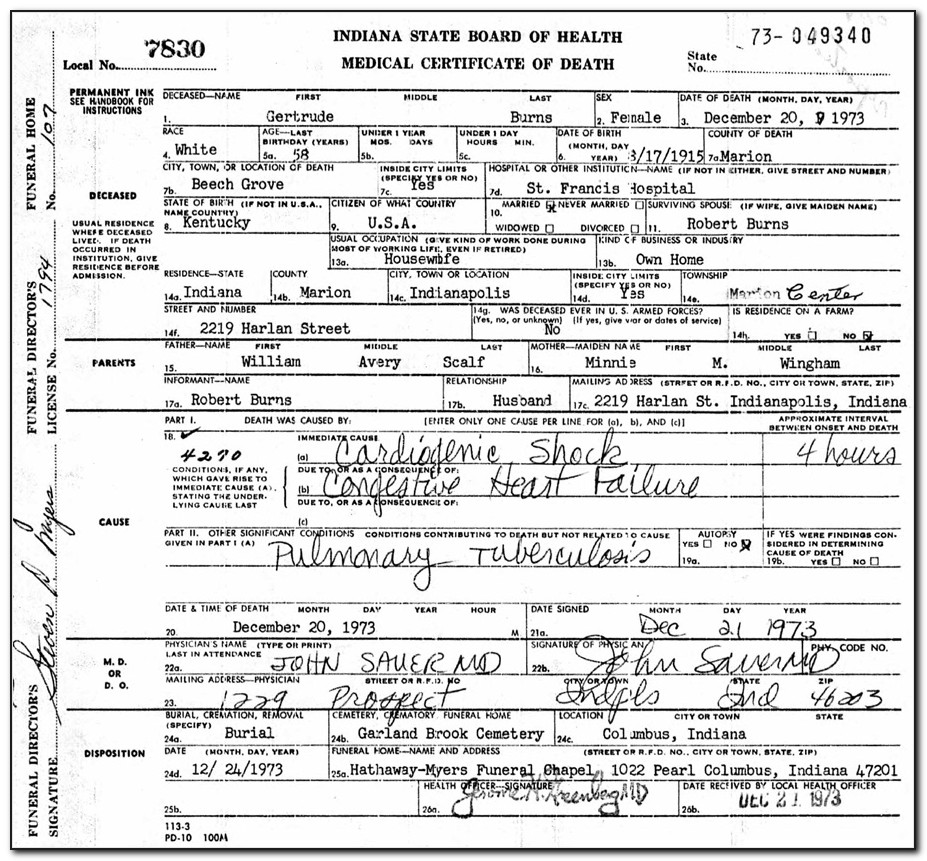 Montgomery County Ohio Birth Certificates