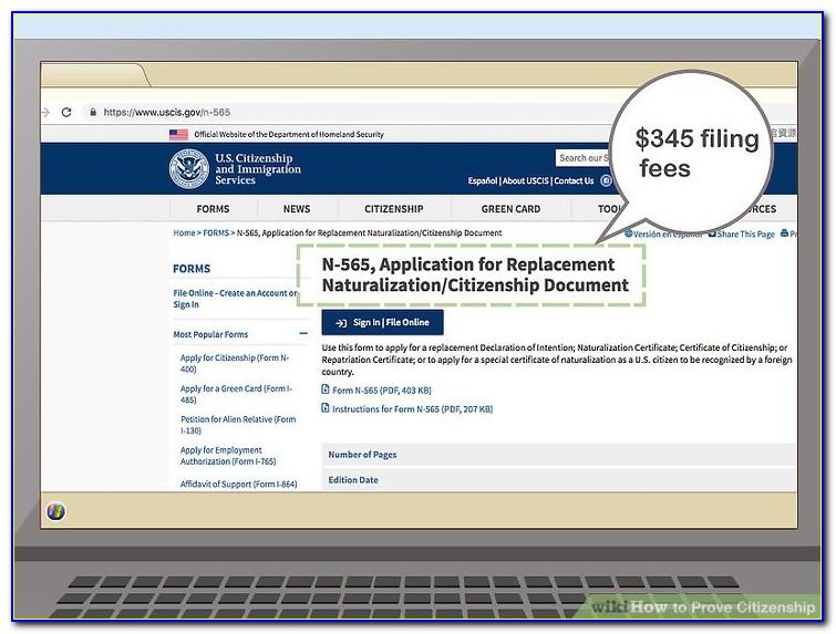 Naturalization Certificate Replacement Uk