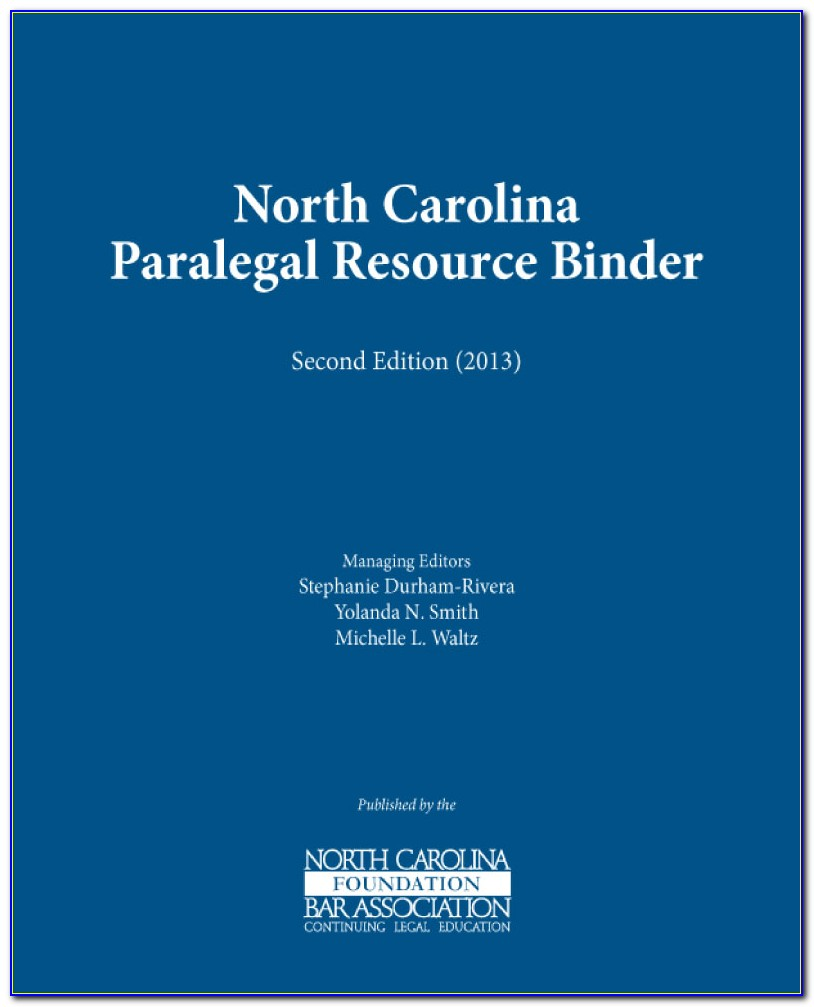 Nc Paralegal Certification Application