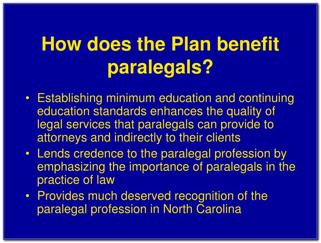 Nc Paralegal Certification Exam Sample Questions