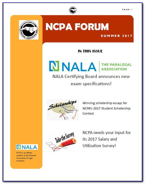 Nc Paralegal Certification Study Guide