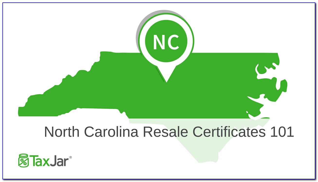 Nc Resale Certificate Lookup