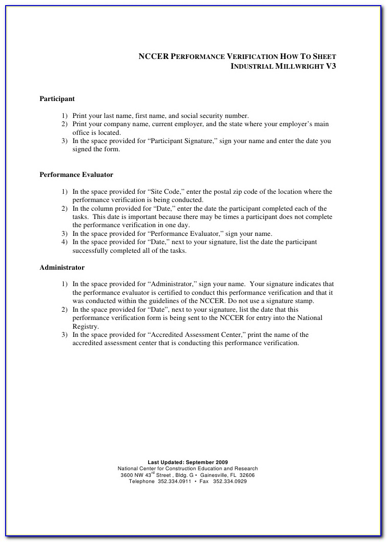 Nccer Certification Online Verification