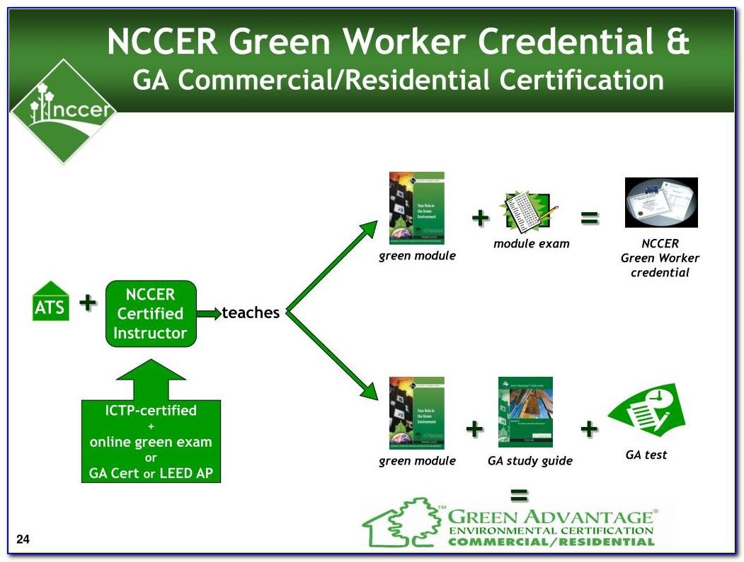 Nccer Certification Online