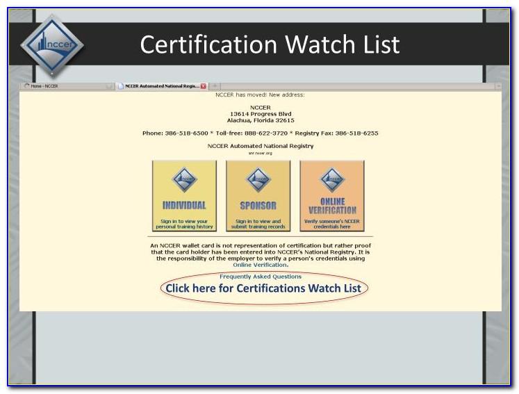 Nccer Pipefitter Certification Online