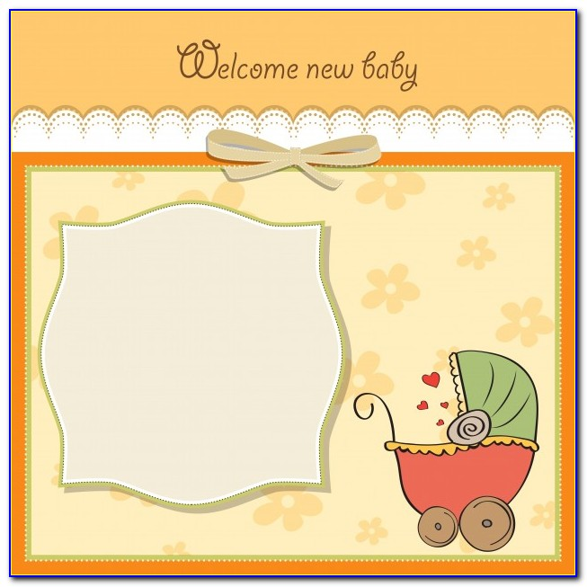 New Baby Card Printable Free