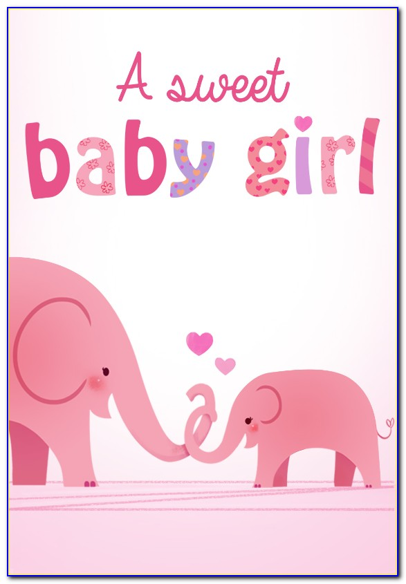 New Baby Card Templates