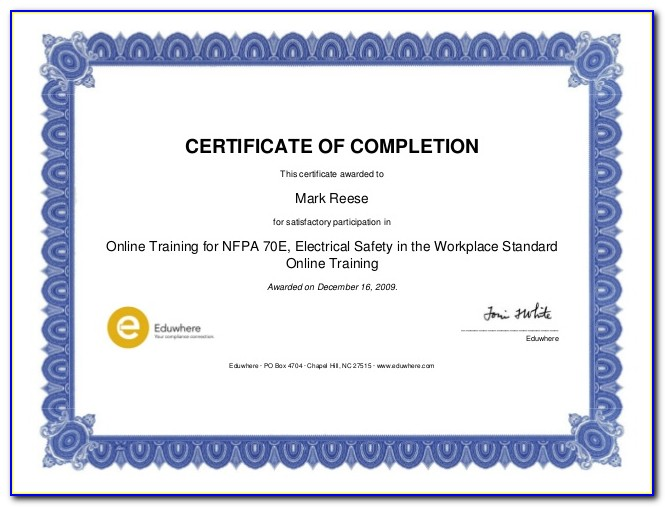 Nfpa 70e Certification Lookup