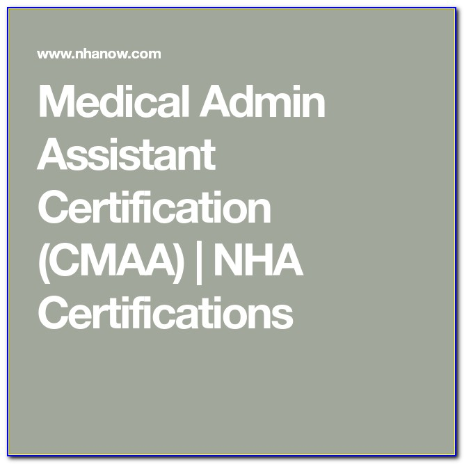 Nha Certified Medical Assistant Jobs