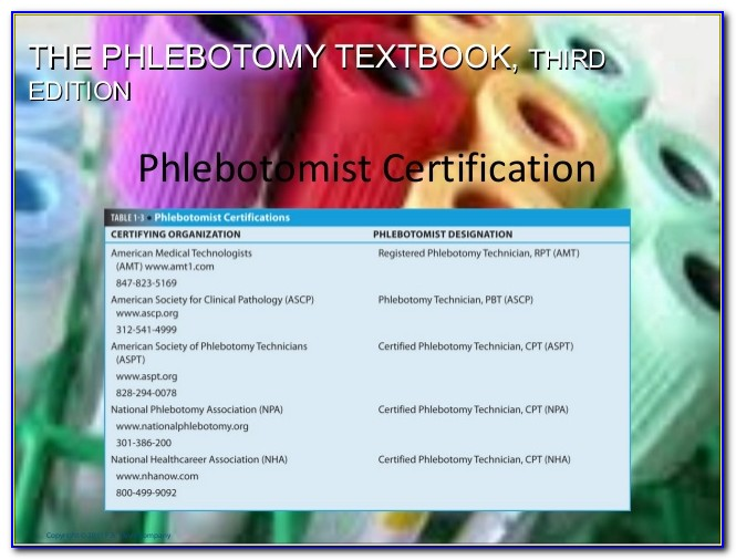 Nha Phlebotomy Certification Test