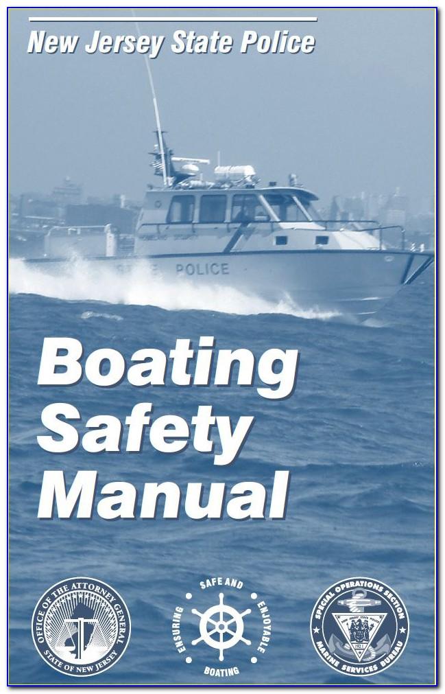 Nj Boating Safety Certificate Online