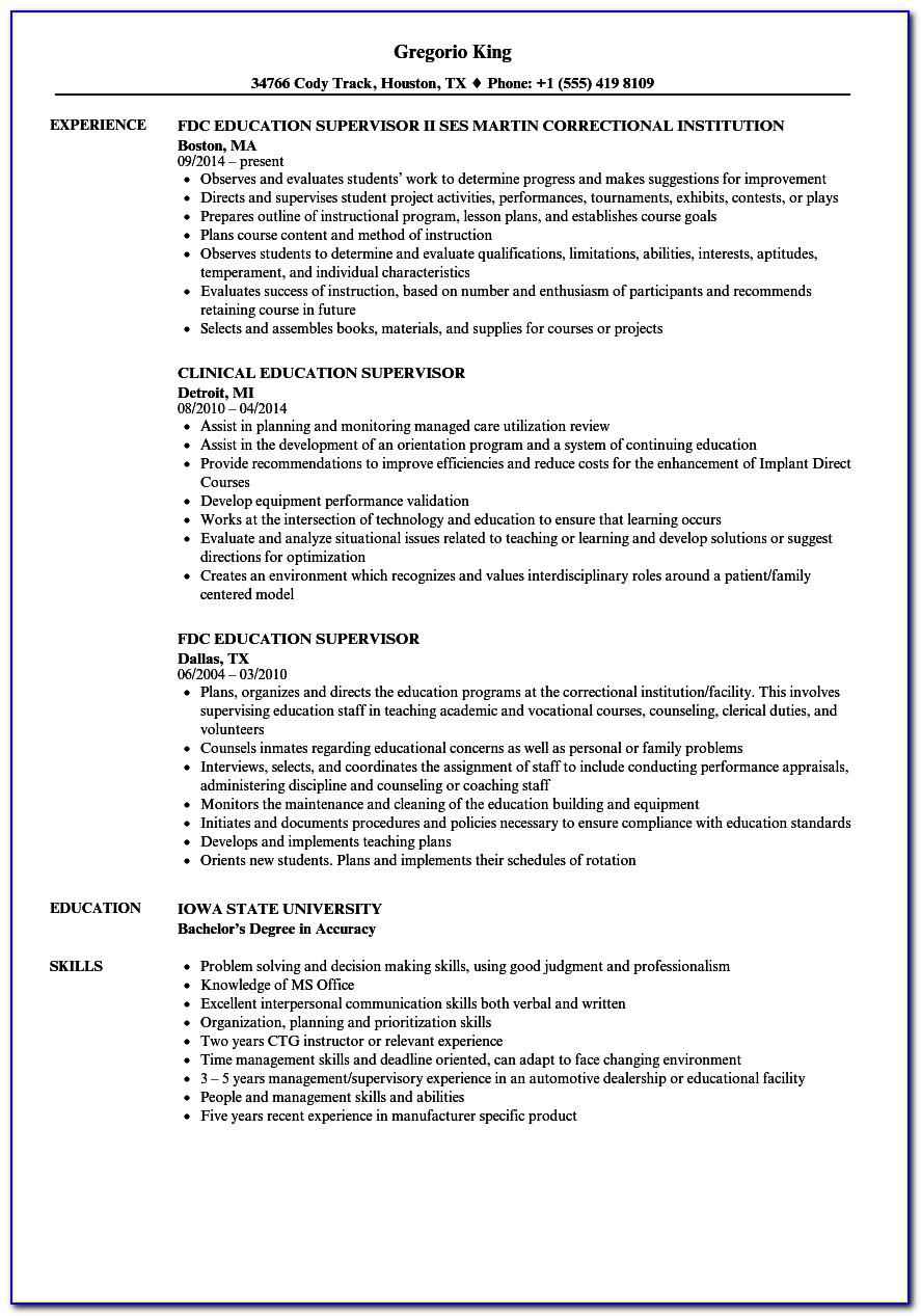 Nj Doe Supervisor Certificate