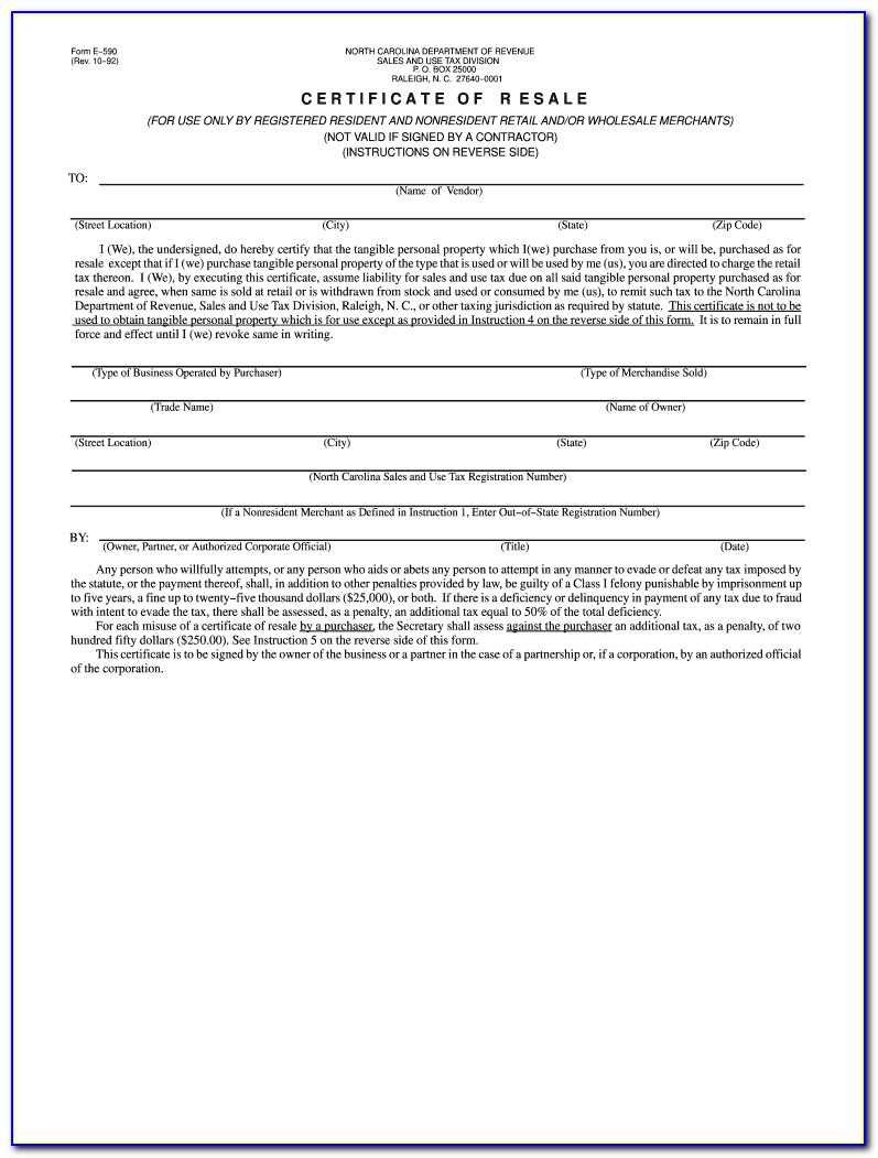 Nj Resale Certificate Out Of State