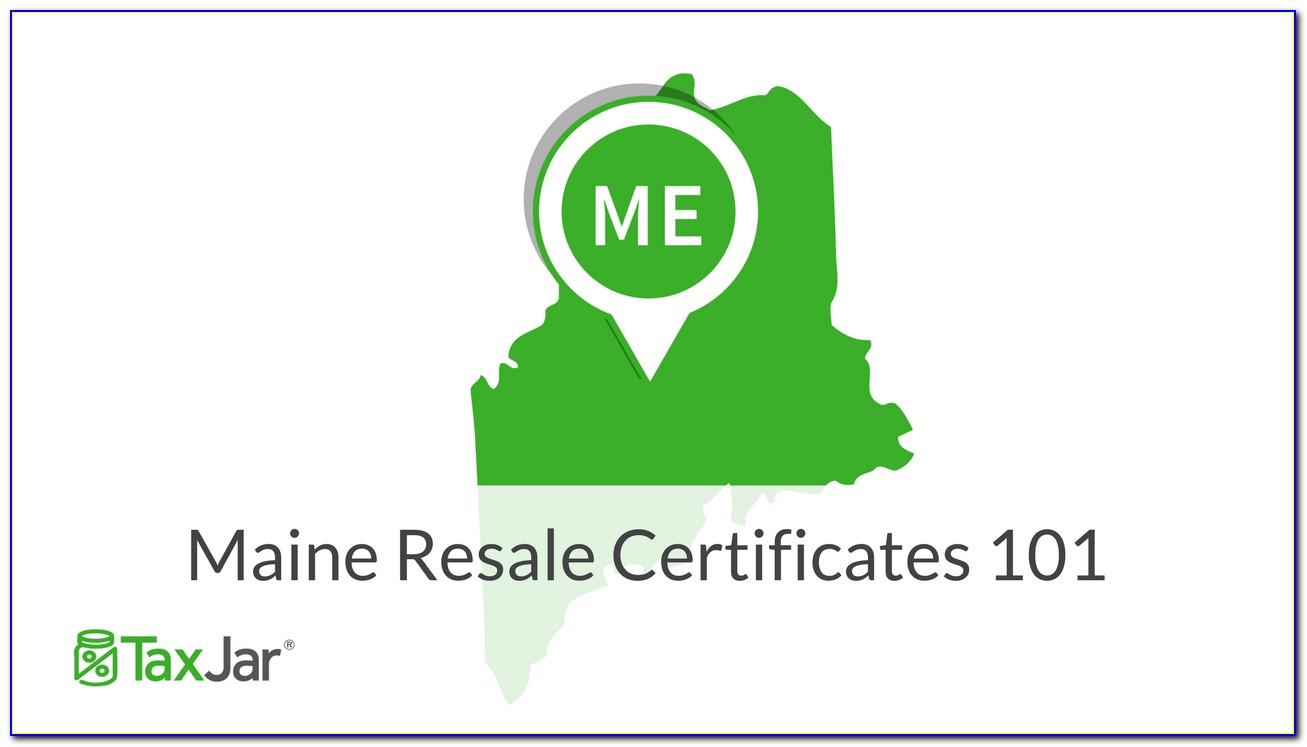 Nj Resale Certificate Template
