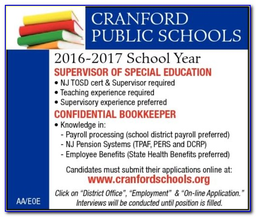 Nj Supervisor Certificate Programs